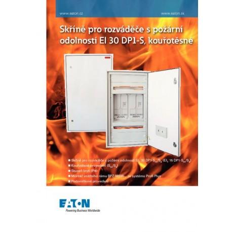 Rozváděčové skříně s požární odolností EI 30