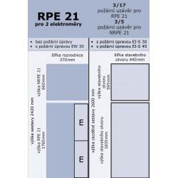 RPE 21 pro dva elektroměry