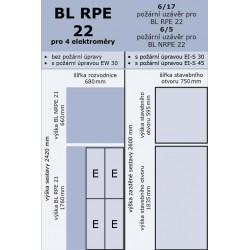 BL RPE 22 pro 4 elektroměry