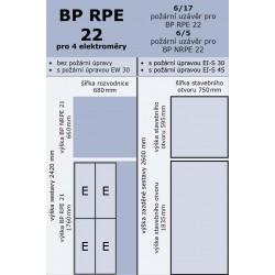 BP RPE 22 pro 4 elektroměry